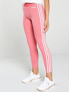 adidas-essential-3s-tights-pink