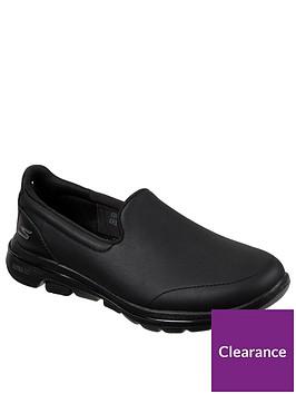 skechers-gowalk-5-plimsolls-black