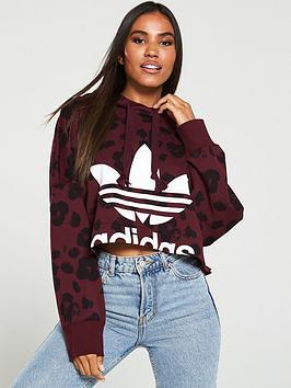 adidas-originals-cropped-hoodie-maroonnbsp