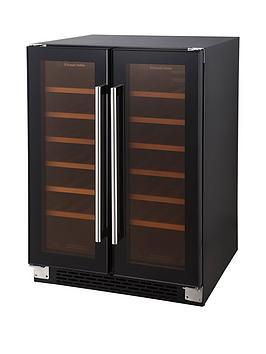 russell-hobbs-black-glass-built-in-or-freestanding-36-bottle-dual-zone-wine-cooler