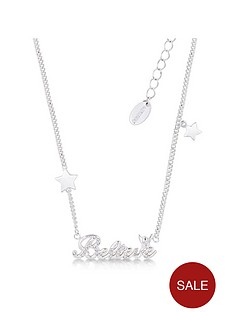 disney-disney-14kt-white-gold-plated-crystal-believe-necklace