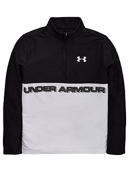 under-armour-tech-12-zip-blackwhite