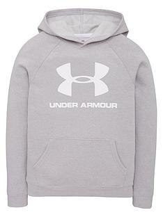 under-armour-kids-rival-logo-hoodie-greywhite