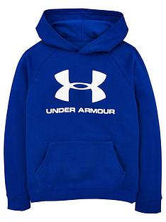 under-armour-rival-logo-hoodie-bluewhite