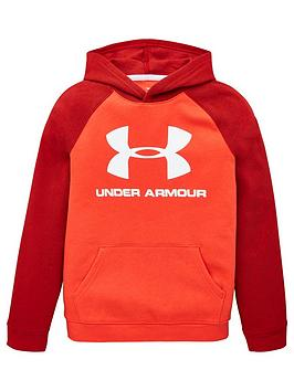 Under Armour Under Armour Rival Logo Hoodie - Red Picture