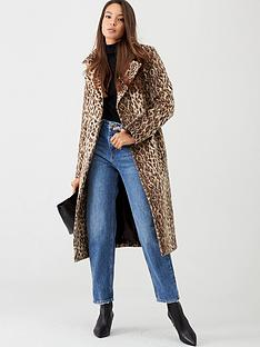 v-by-very-animal-print-wrap-coat-leopard-print