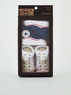 converse-2-pairs-chuck-infant-booties-navywhite