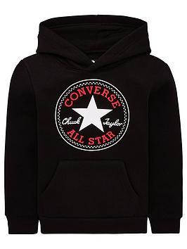 Converse Converse Fleece Chuck Patch Hoodie - Black Picture