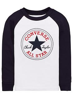 converse-chuck-patch-long-sleeve-raglan-top-whitenavy