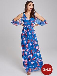 little-mistress-floral-printed-chiffon-maxi-dress-multi
