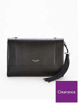 ted-baker-natalei-leather-tassel-detail-crossbody-bag-black