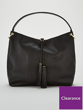 ted-baker-demmi-tassel-hobo-bag-black