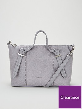 ted-baker-olmia-knotted-handle-small-leather-tote-bag-light-grey
