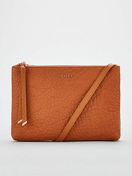 ted-baker-opelle-knotted-handle-leather-cross-body-bag-tan