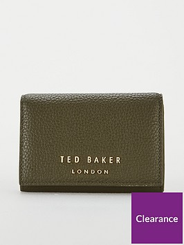 ted-baker-odelle-statement-letters-mini-purse-khaki
