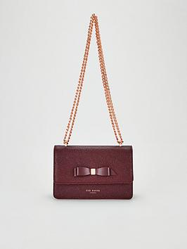 ted-baker-jayllaa-bow-detail-leather-micro-cross-body-bag-oxblood