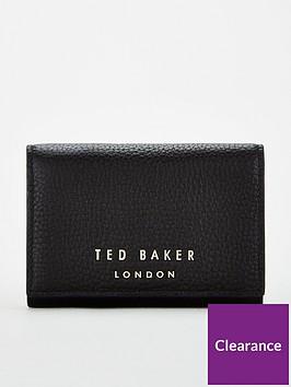 ted-baker-odelle-statement-letters-mini-purse-black