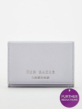 ted-baker-odelle-statement-letters-mini-purse-mid-grey