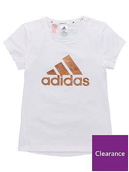 adidas-junior-training-metallic-logo-t-shirt-white