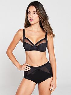 playtex-perfect-silhouette-high-waist-shaping-brief-black