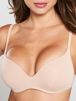 Wonderbra Wireless T-Shirt Bra - Nude