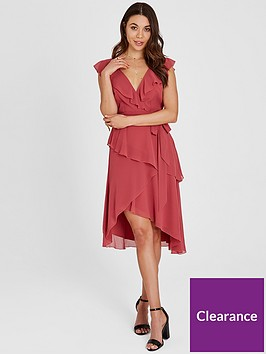 little-mistress-chiffon-wrap-midi-dress-blush