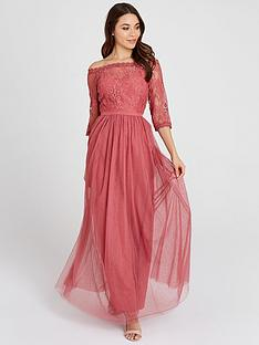 little-mistress-little-mistress-mesh-top-bardot-maxi-dress