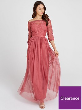 little-mistress-mesh-top-bardot-maxi-dress-blush