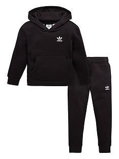 adidas-originals-tape-hoodie-set-black