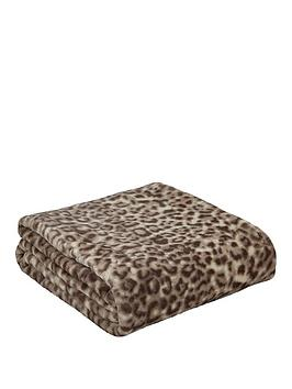 Catherine Lansfield Catherine Lansfield Leopard Throw Picture