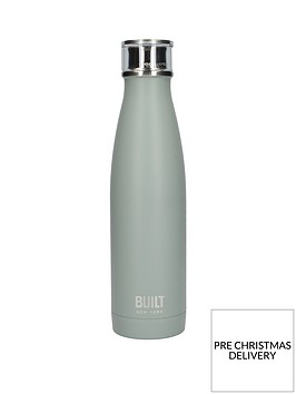 built-hydration-double-walled-stainless-steel-17oz-water-bottle-ndash-grey