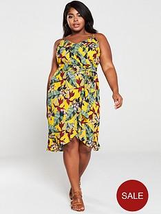 oasis-bali-tropical-wrap-midi-dress-yellowmulti