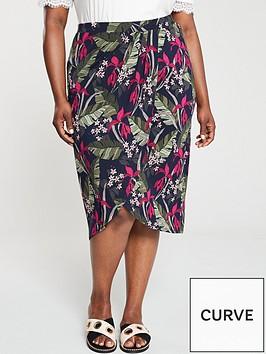 oasis-bali-tropical-drape-jersey-skirt-multi