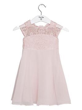 Chi Chi London Girls Islia Dress - Pink