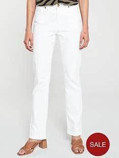 wallis-harper-straight-leg-jeans-white