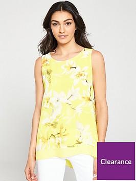 wallis-lemon-orchid-double-layer-top-yellow