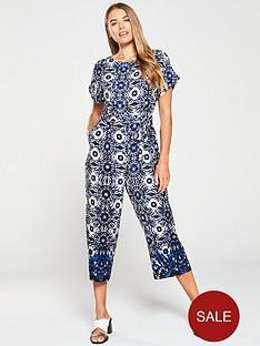wallis-tienbspdye-jumpsuit-blue