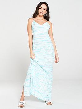 warehouse-tie-dye-maxi-dress-turquoise