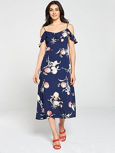 warehouse-iris-floral-midi-dress-navy
