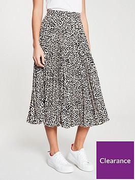 oasis-pleated-skirt-animal-print