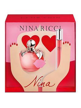 nina-ricci-nina-ricci-nina-ladies-50ml-eau-de-toilette-10ml-eau-de-toilette-rollon-gift-set