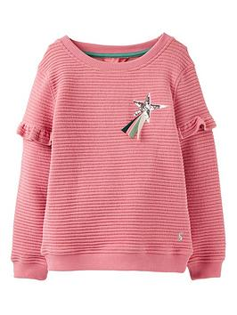 joules-girls-tiana-sequin-horse-sweat