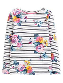 joules-girls-harbour-floral-long-sleeve-t-shirt-navy