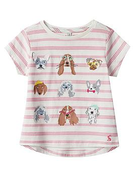 joules-girls-astra-dog-short-sleeve-t-shirt-pink