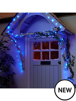 100-led-digital-dewdrop-rainbow-indooroutdoor-christmas-lights