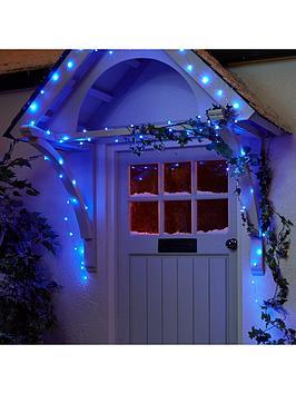 Very 100 Led Digital Dewdrop Rainbow Indoor/Outdoor Christmas Lights Picture