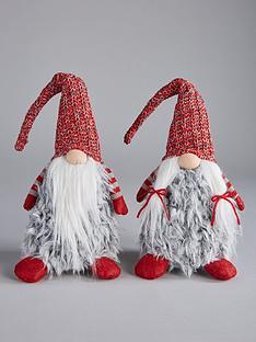 festive-set-2-greyred-plush-gonknbspchristmas-decorations