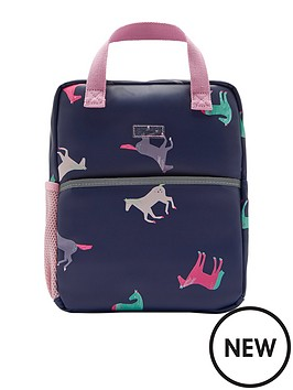 joules-girls-adventure-horse-mini-rubber-backpack-navy