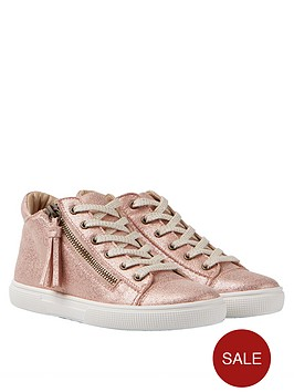joules-girls-runaround-rose-metallic-trainer