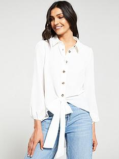 v-by-very-button-through-knot-front-blouse-whitenbsp